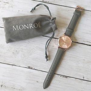 Sunburst Solerose Watch, Monroe by Maestro
